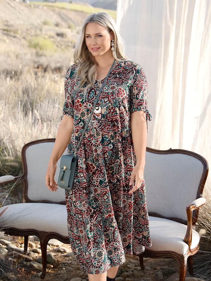 MIAMODA Kleid mit floralem Muster, Multicolor