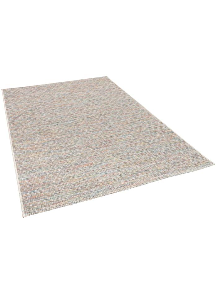 In- und Outdoor Teppich Flachgewebe Carmel Meliert