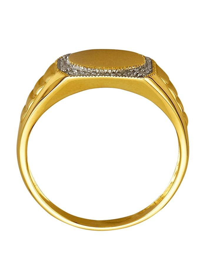 Bague homme avec diamants