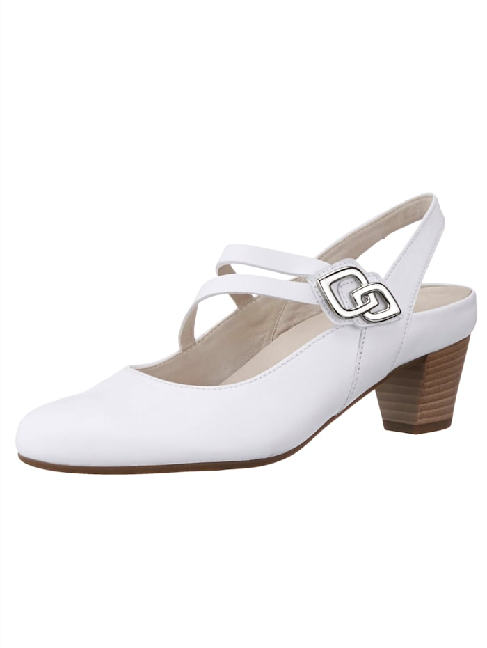 Gabor Slingback shoes, White