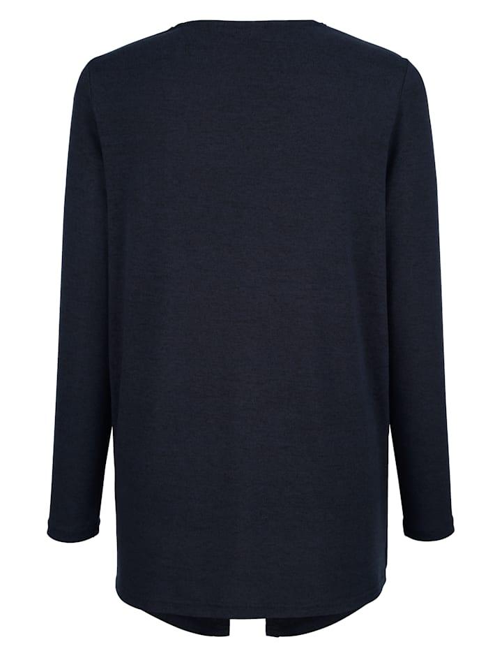 2-in-1 Shirt mit Leichtstrick