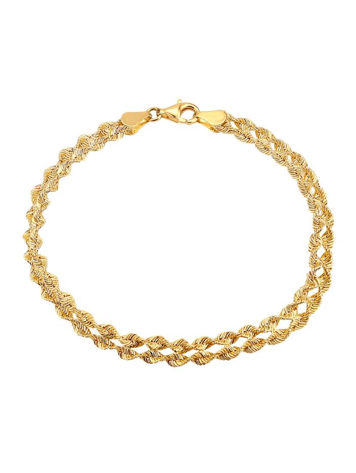 KLiNGEL Armband 2-reihig, Gelb