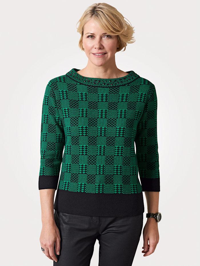 Pullover mit Ziersteinen
