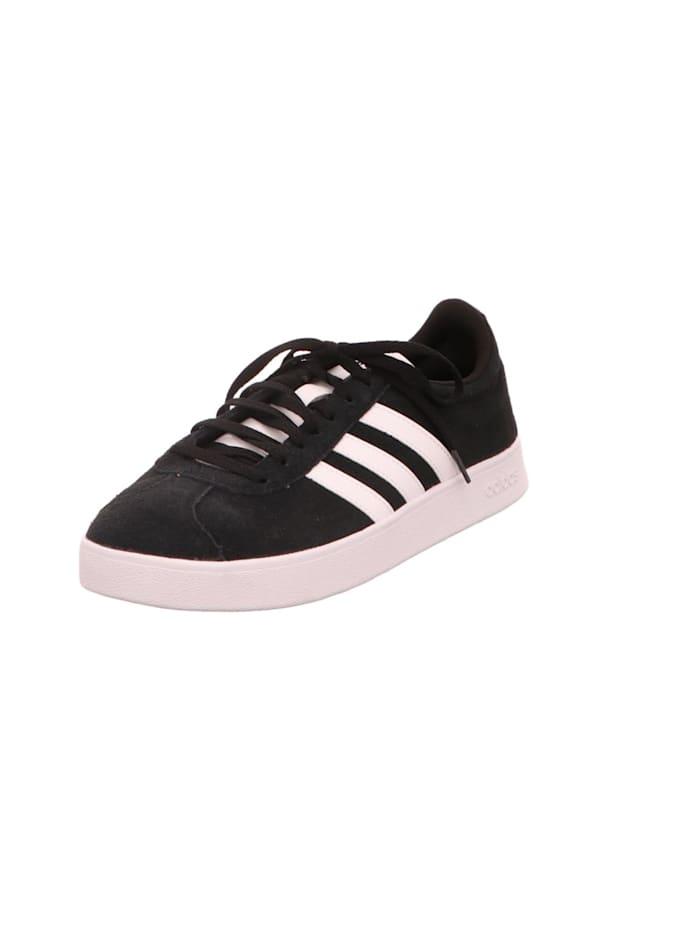 adidas Schnürschuhe, schwarz