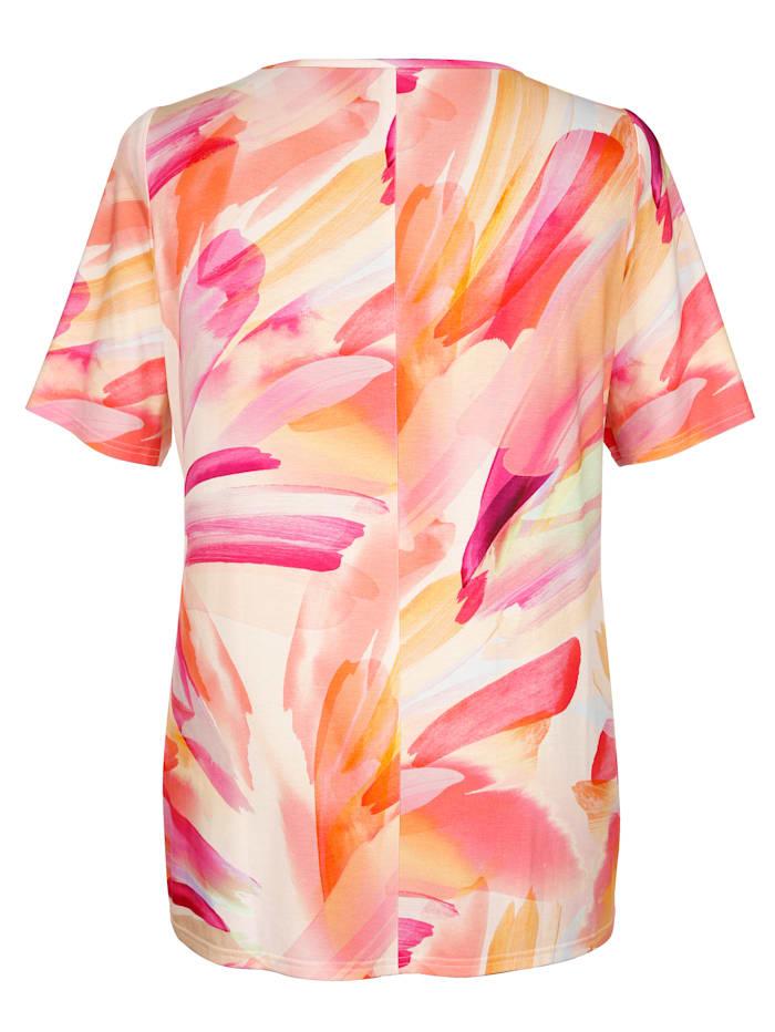 Lyhythihainen batikki-paita