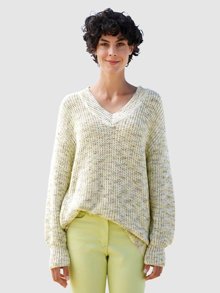 Dress In Pullover in schöner Strickqualität, Stein
