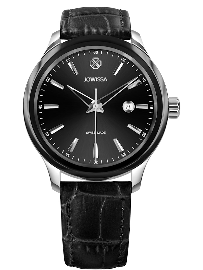 Jowissa Quarzuhr Tiro Swiss Men's Watch, schwarz