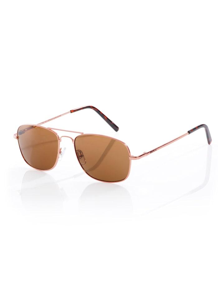 Alba Moda Sonnenbrille in Pilotenform, roségold/braun