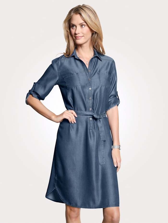 Robe d'aspect jean