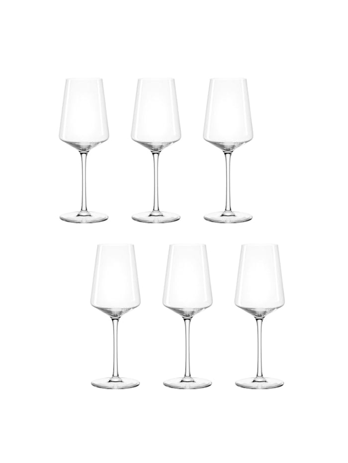 Leonardo Rieslingglas 6er-Set Puccini, Transparent