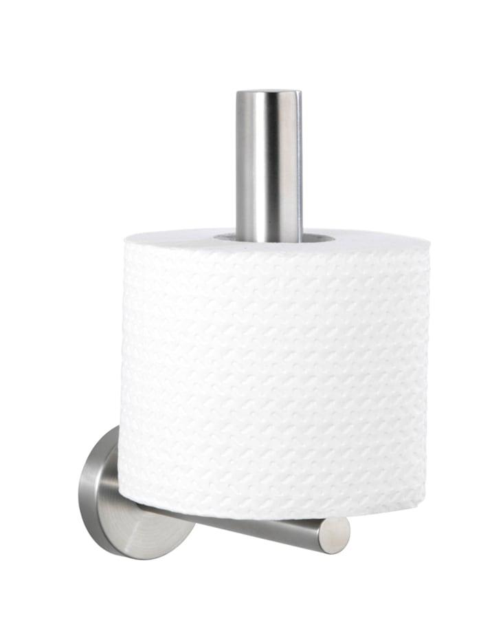 Wenko Toilettenpapier-Ersatzrollenhalter Bosio Edelstahl matt, rostfrei, Matt