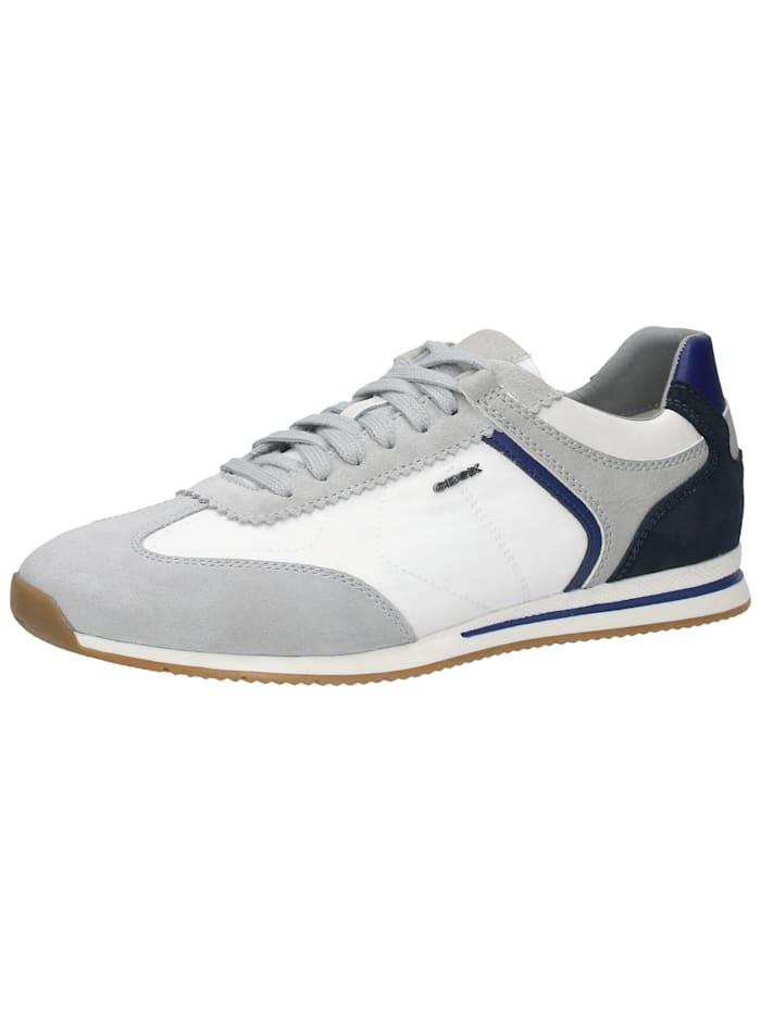 Geox Geox Sneaker, Hellgrau/Weiß