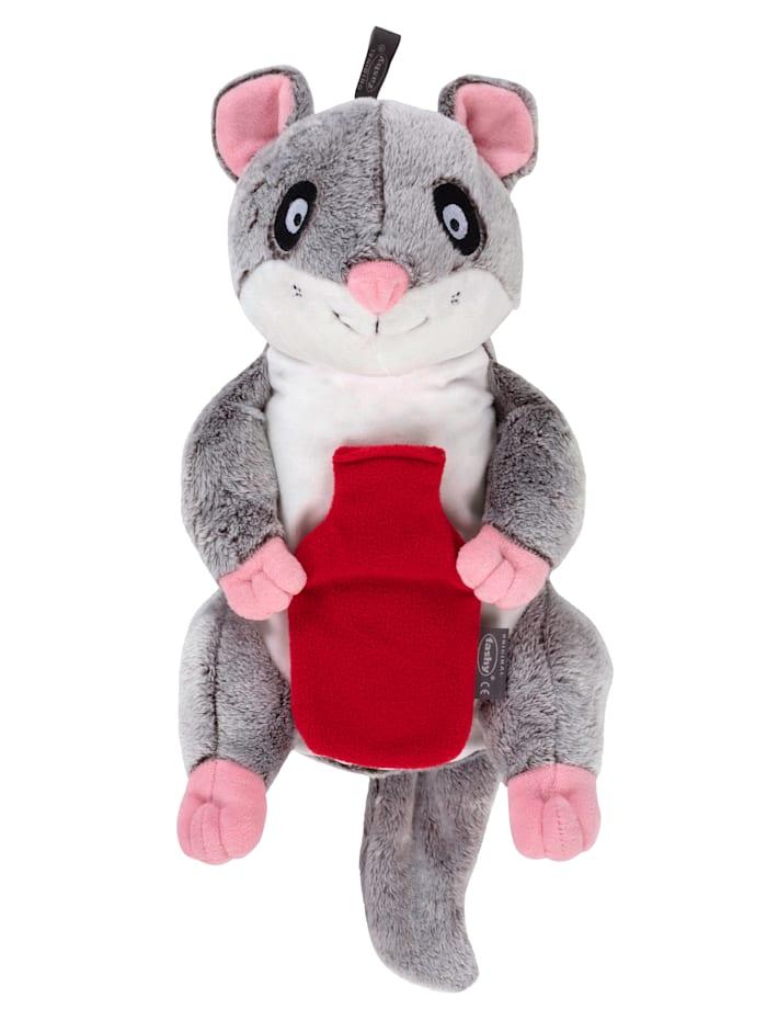 Fashy Kruik als knuffelmuis, grijs