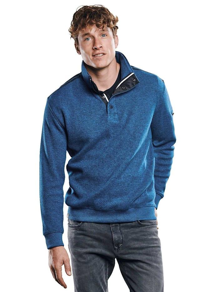Engbers Auffälliges Sweatshirt, Petrolblau