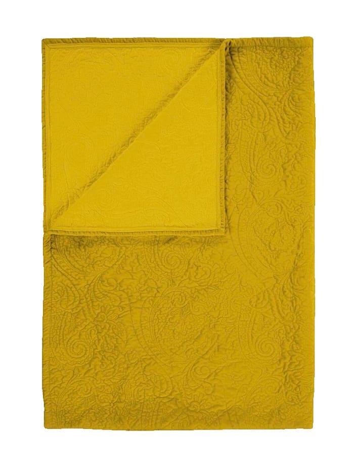 Essenza Tagesdecke 'Roeby', Golden gelb