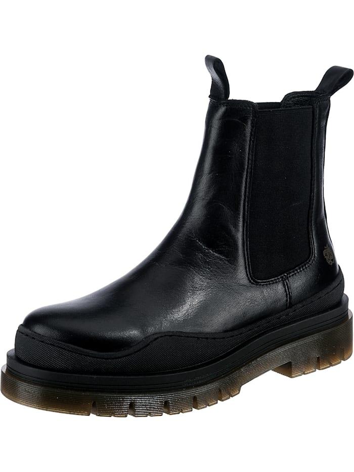 Apple of eden Cream Chelsea Boots, schwarz