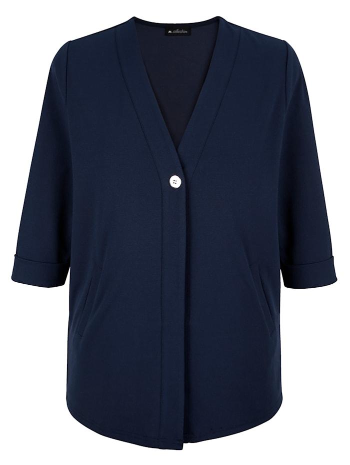 Shirtjacke aus elastischem Material