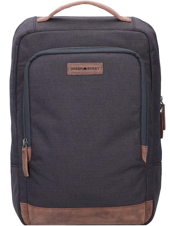 Greenburry Queens Rucksack 39 cm Laptopfach, black