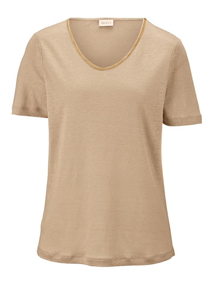 Top made from pure linen