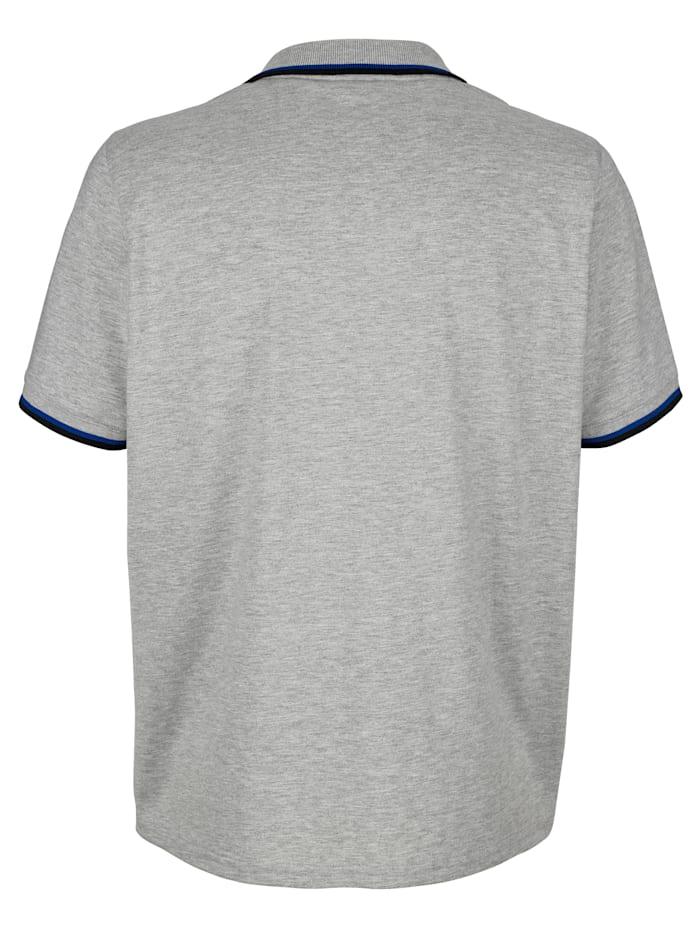 Poloshirt mit Druckmotiv
