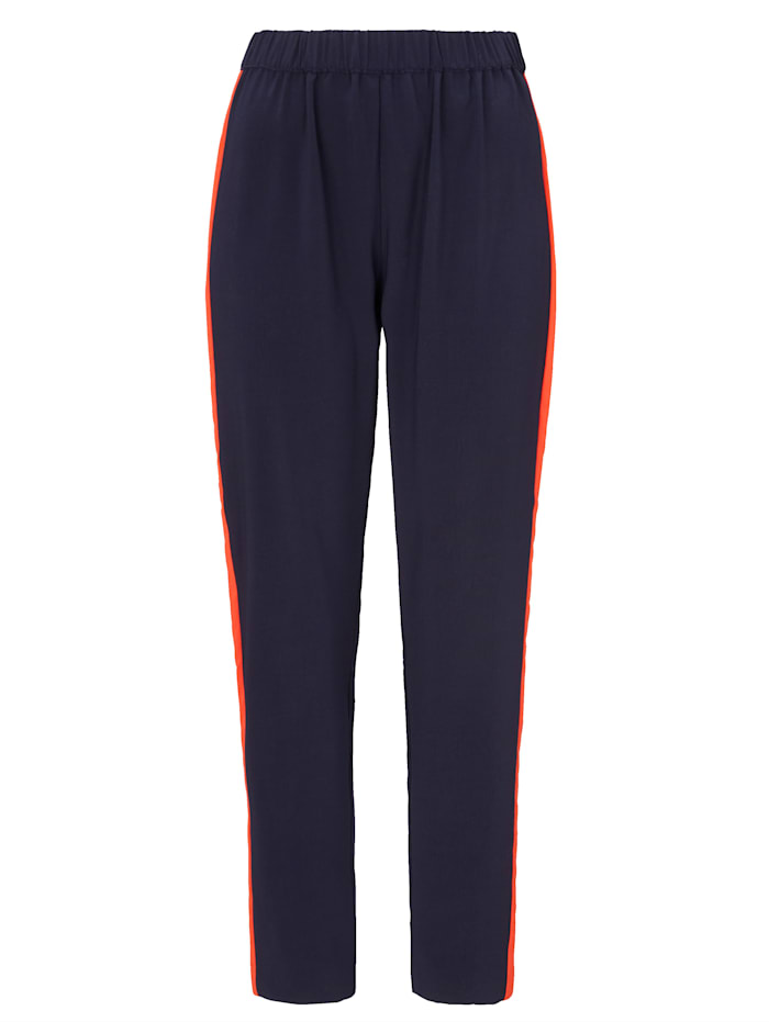 REKEN MAAR Pantalon, Bleu foncé