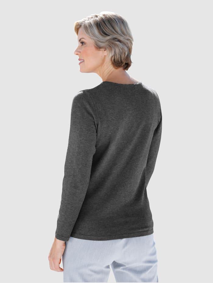 Pullover mit Steinchendekoration