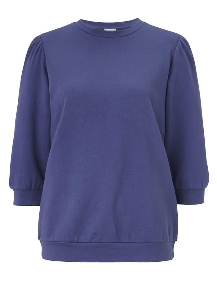 REKEN MAAR Sweatshirt, Jeansblau