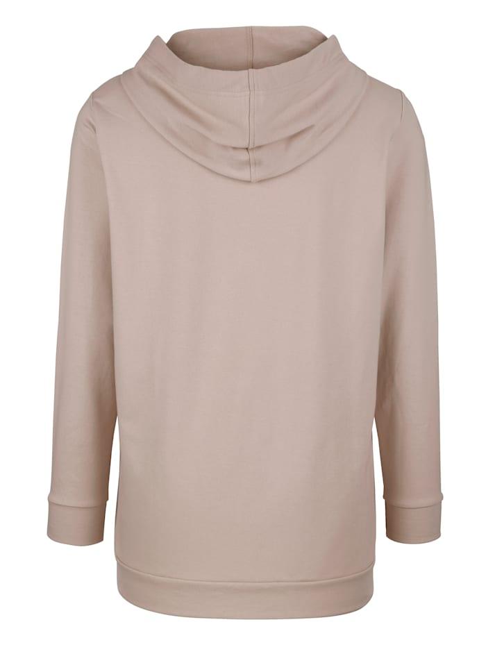 Sweatshirt mit Foliendruck