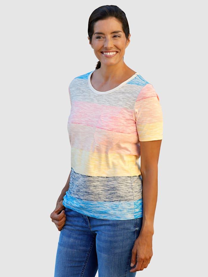 Laura Kent Raidallinen paita, Monivärinen