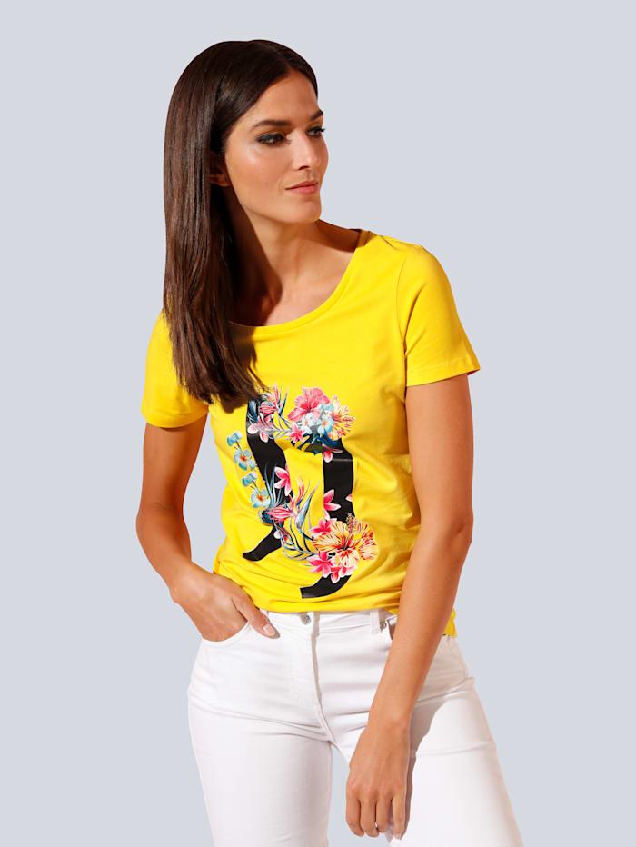 JETTE JOOP T-Shirt in modischer Farbe, Gelb