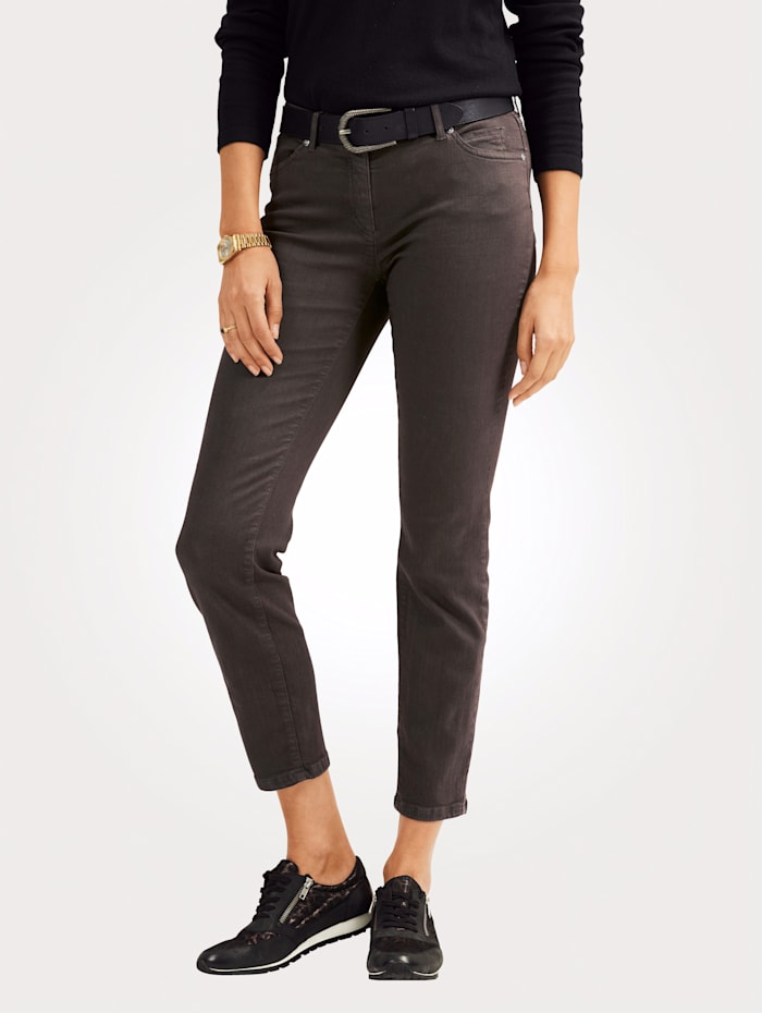 Toni Jeans made from coloured denim, Brown
