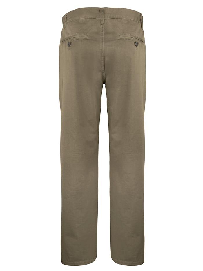 Pantalon à poches dos passepoilées