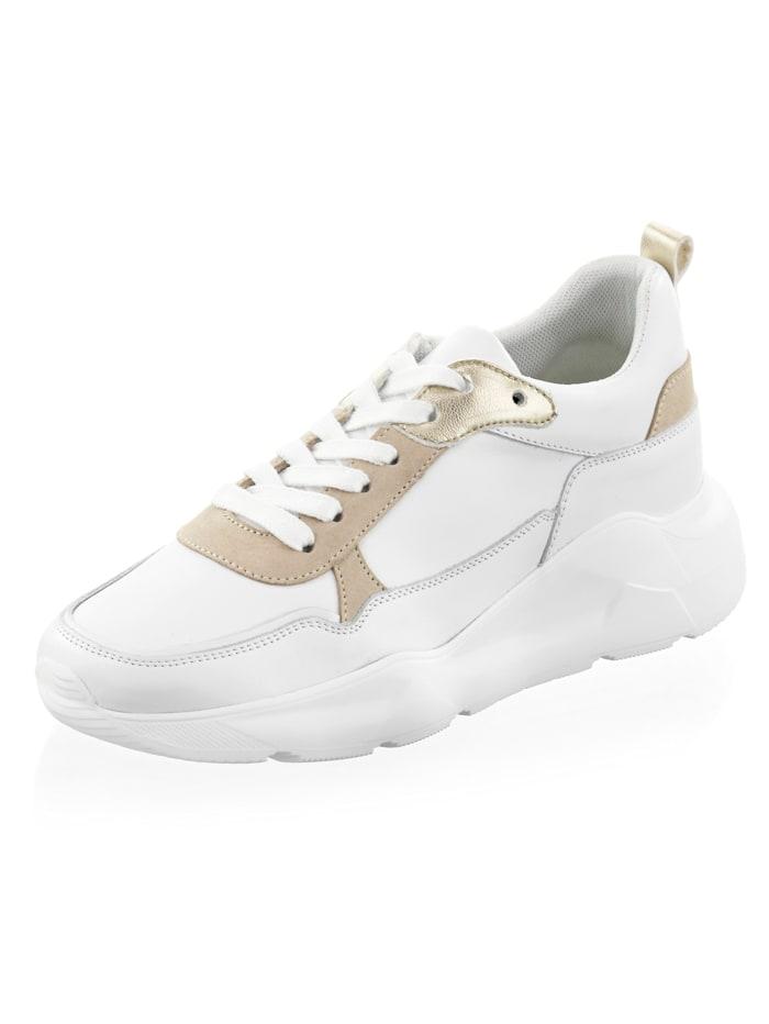 Alba Moda Sneaker mit Plateausohle, Weiß