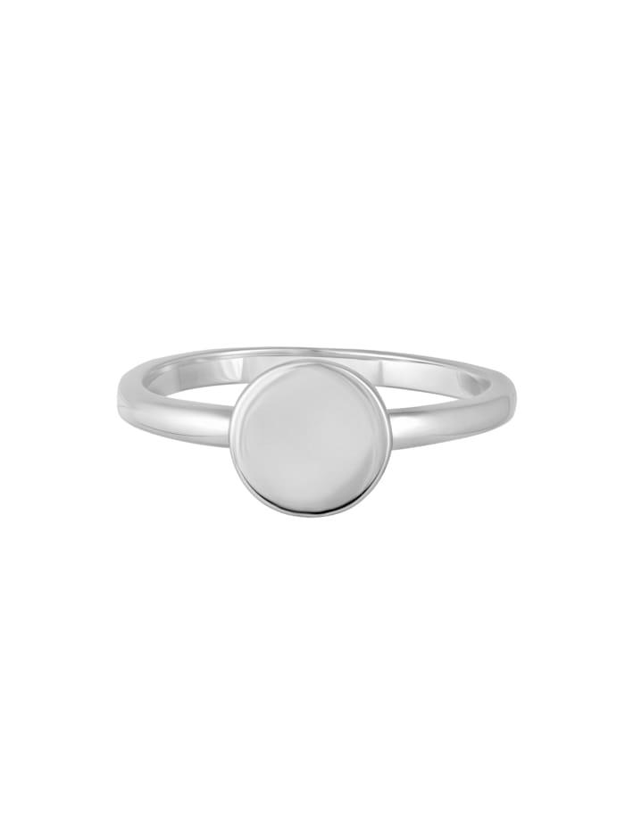 CAI Ring 925 Sterling Silber ohne Stein glänzend   Klingel