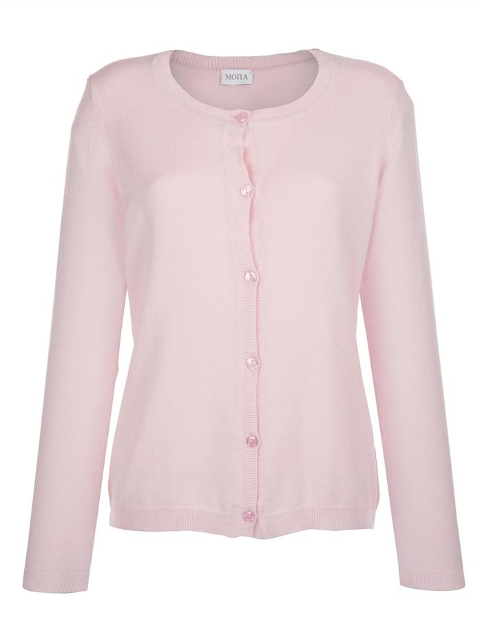 MONA Cardigan made from a premium-quality fabric, Rosé