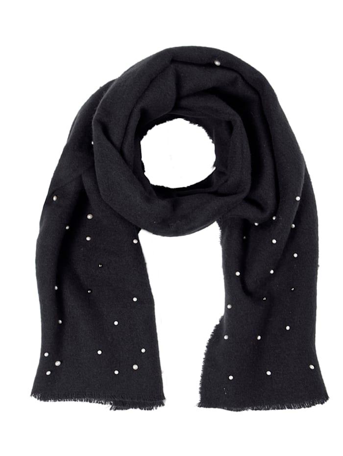 SIENNA Schal, schwarz