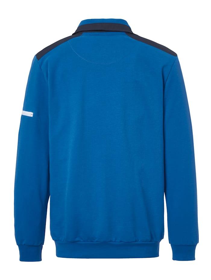 Sweatshirt met hoogwaardige details