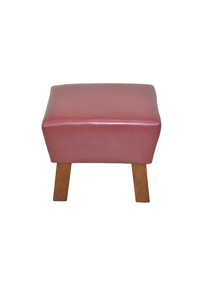 Möbel-Direkt-Online Sitzhocker Remus, rot