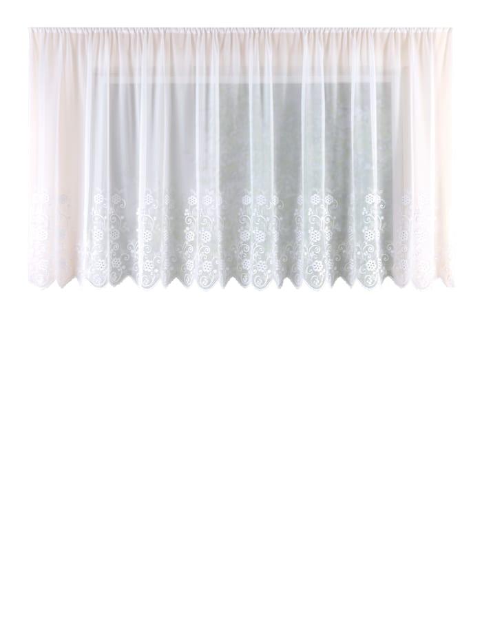 Gardinserie -Asmi-, hvit