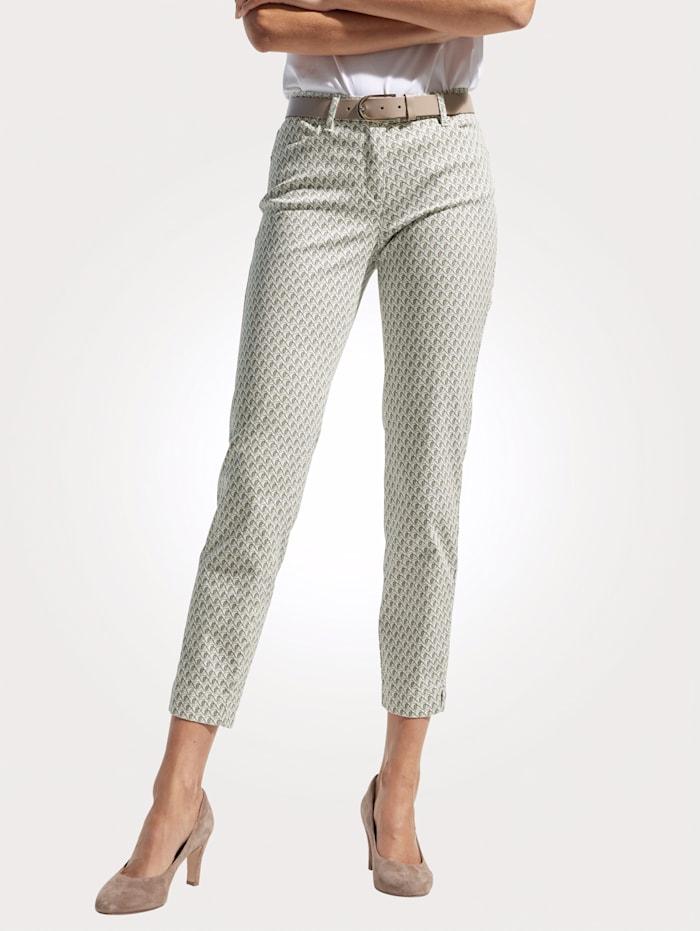 Toni 7/8-jeans, Ecru/Salie