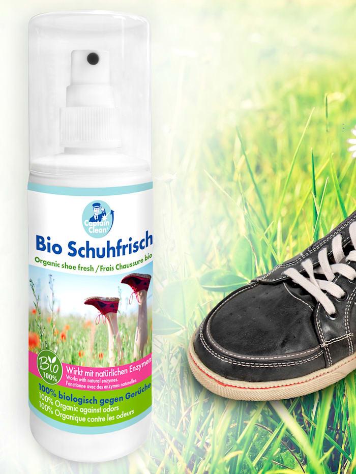 Skospray mot dålig lukt i skorna