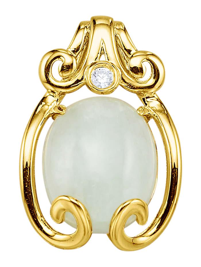 Kullanvärinen jaderiipus hopeaa, Keltakullanvärinen