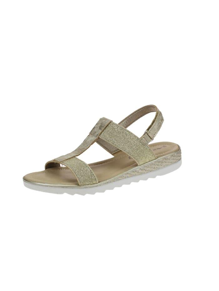 Tamaris Sandalen/Sandaletten, beige