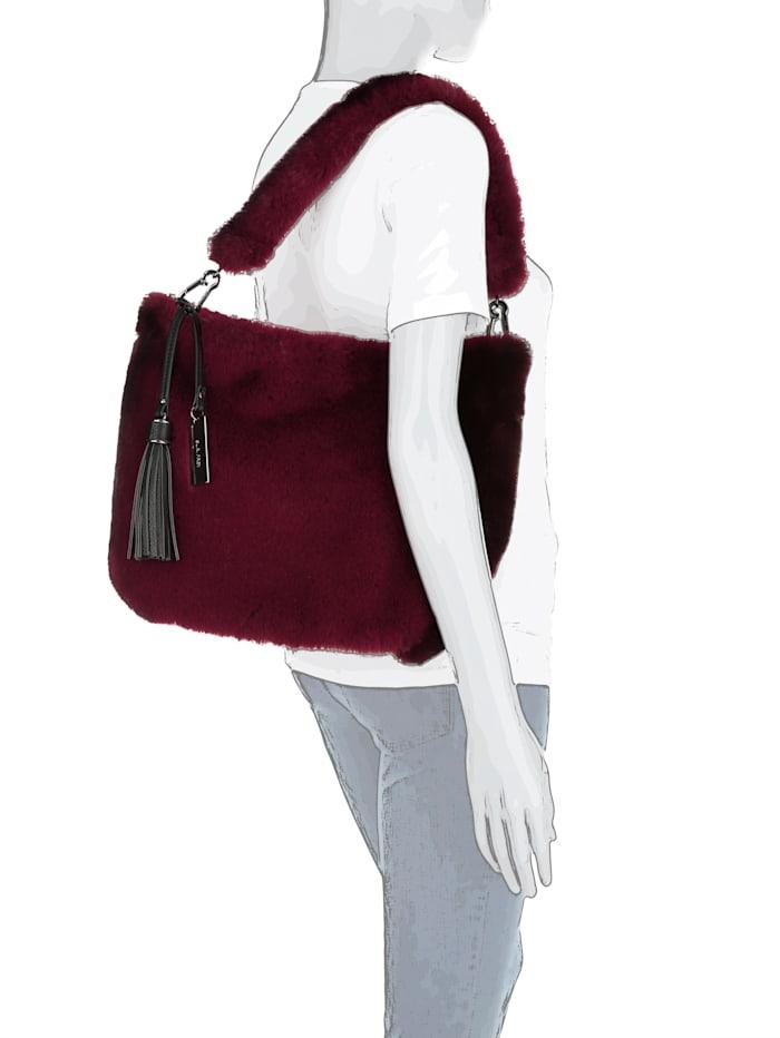 Handtasche in Felloptik