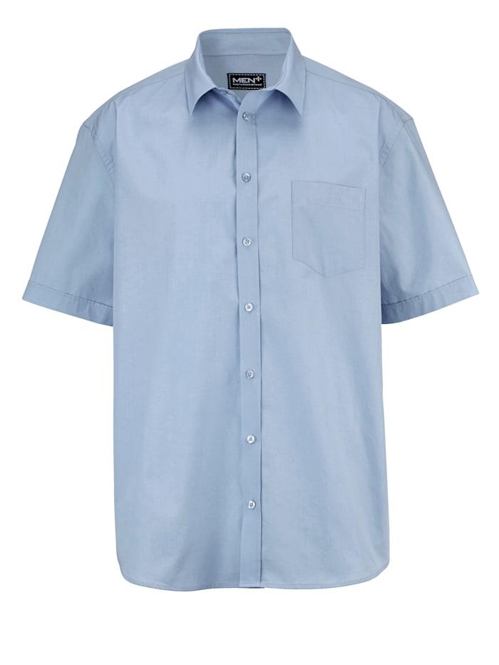 Men Plus Kurzarmhemd klassisch, Hellblau