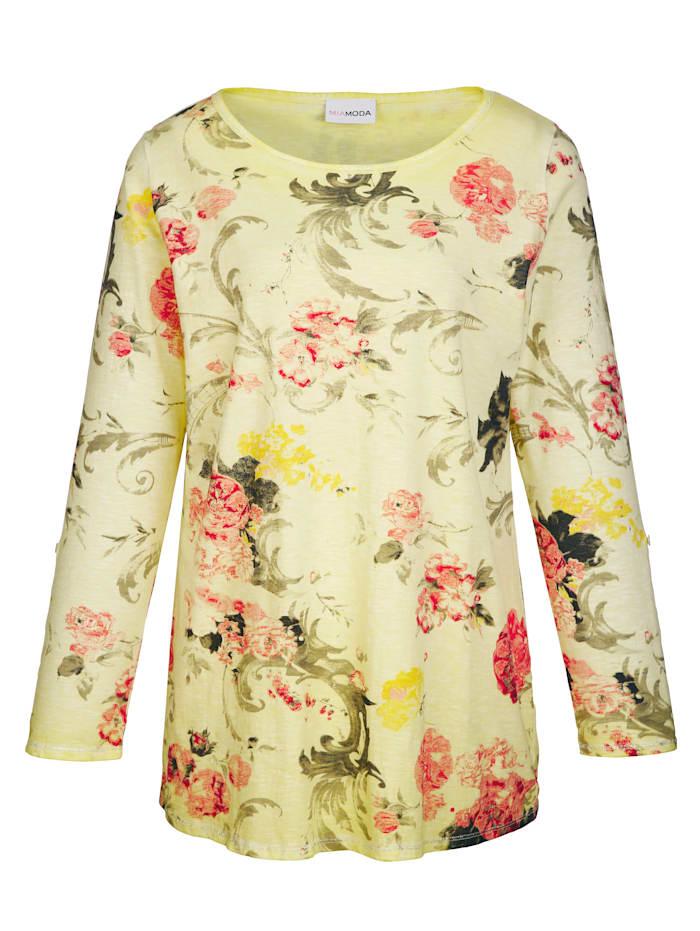 Shirt mit zartem Blumendruck