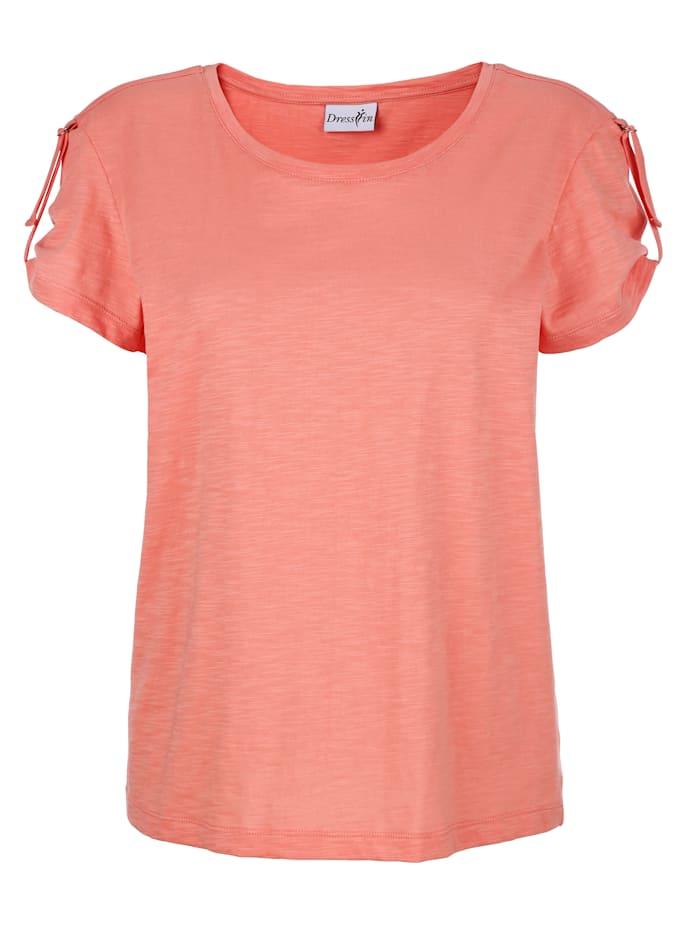 Shirt mit kleinem Riegeldetail am Arm