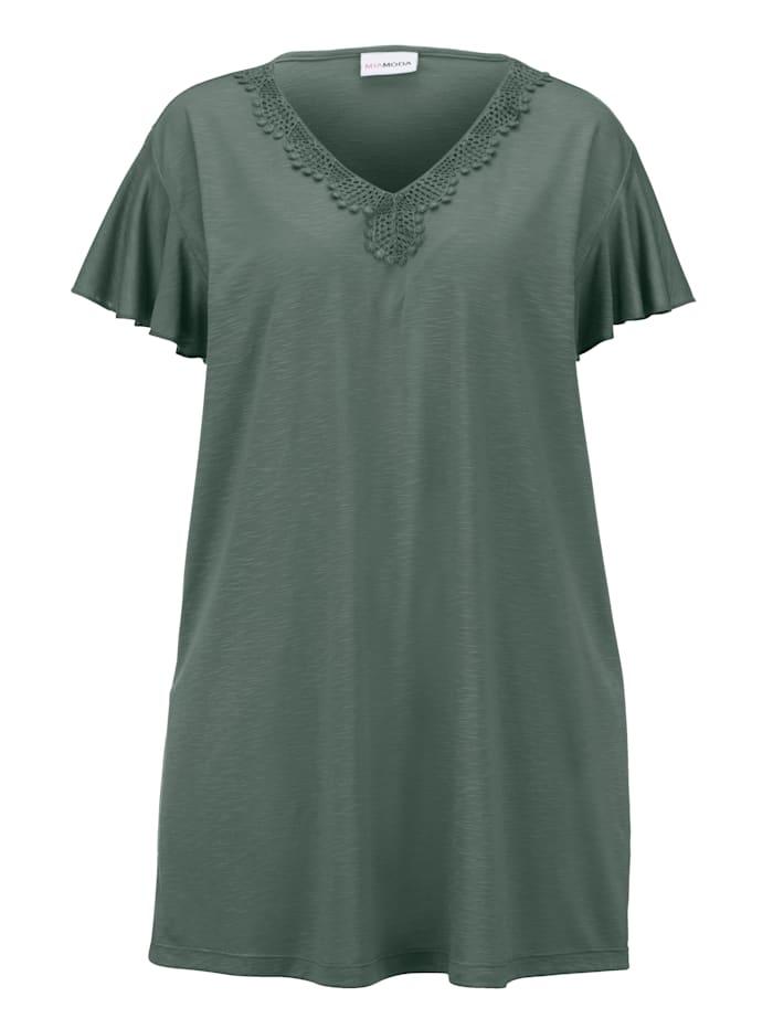 Shirt aus leichter Ausbrenner-Qualität