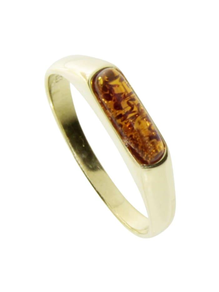 OSTSEE-SCHMUCK Ring - Lisan - Gold 333/000 - Bernstein, gold