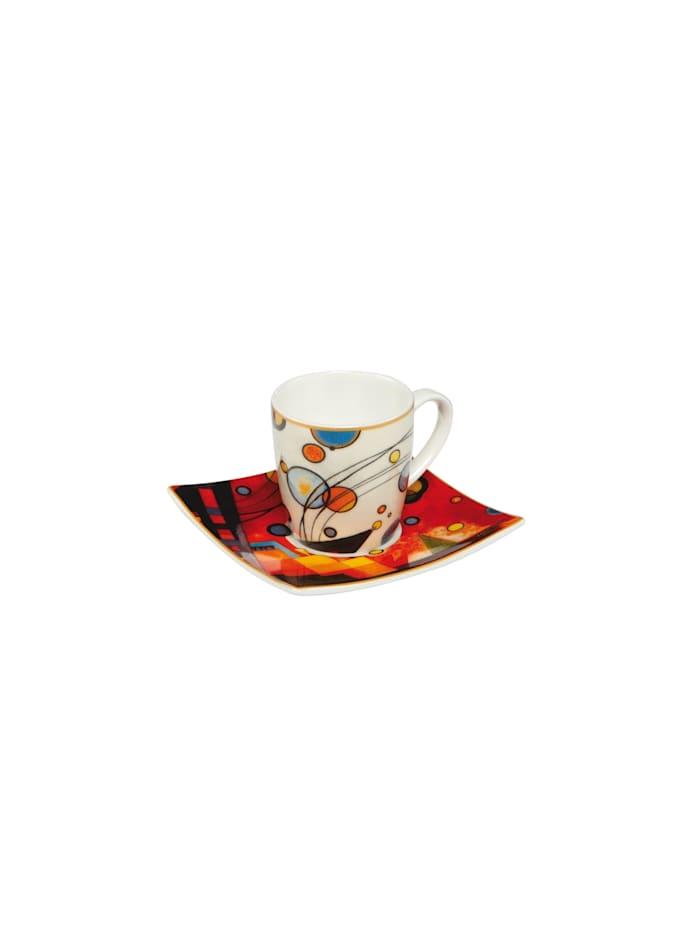 Goebel Goebel Espressotasse Wassily Kandinsky - Schweres Rot, Kandinsky - Rot